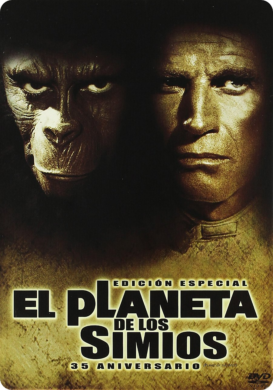 Amazon.com: El Planeta de los Simios (1968) 35º Aniversario ...