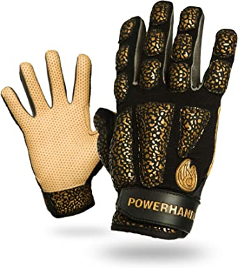 Amazon Com Powerhandz Weighted Baseball Softball Gloves For Strength And Resistance Training Non Slip Pure Grip Practice Gloves Small 0 5 Lb