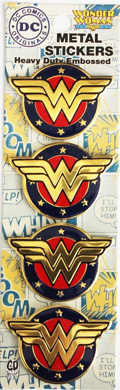C&D Visionary Original Wonder Woman Shield 4 Mini Officially Licensed Original Artwork