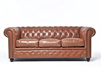 The Chesterfield Brand Autentico Sofá Chester Vintage Mocca ...