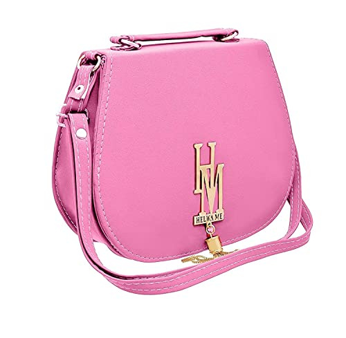 cfa6e04dea BFC-Buy For Change Stylish Elegant Multi Pocket Sling Side Bag Cross Body  Purse with Adjustable Strap For Women And Girls (Baby Pink)  Amazon.in   Shoes   ...