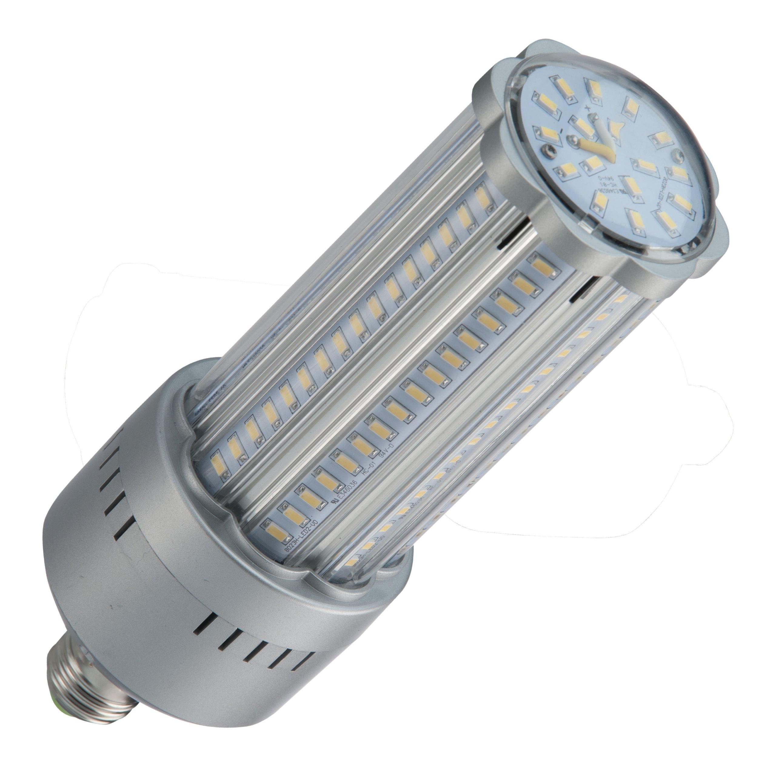 Light Efficient Design LED-8033E57-A Post Top/Site Lighting Retrofit LED Light Bulb, 5700 Kelvins, Day White