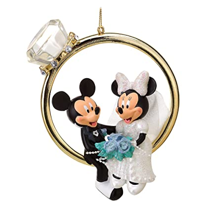 Disney mickey holding bear key chain pendant key chains ornament new