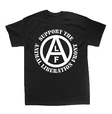 e366f60a Amazon.com: Animal Liberation Front (ALF) Shirt - Vegan Vegetarian ...