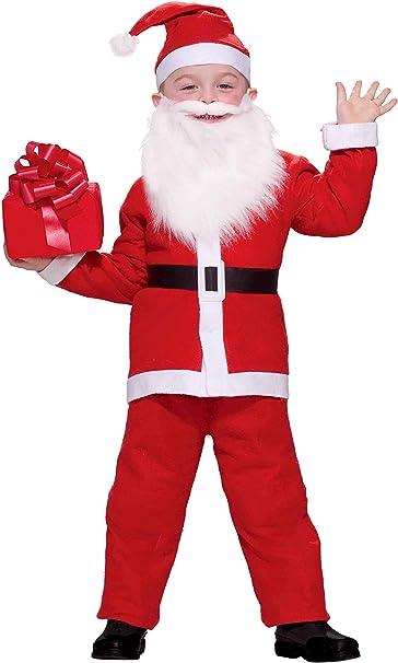 Amazon.com: Forum Novelties Disfraz de Papá Noel para niño ...
