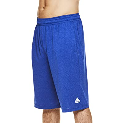 Above the rim Men's Basketball Shorts - Athletic Heather Jersey Workout & Gym Short