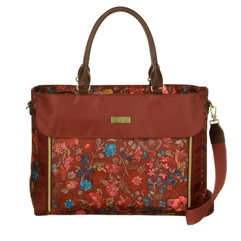 LiLiÓ Office Bag LIL7544-228-Rosewood Damen Aktentasche Schultertasche mit Laptopfach(40, 5x12x31 cm) LIL7545-228