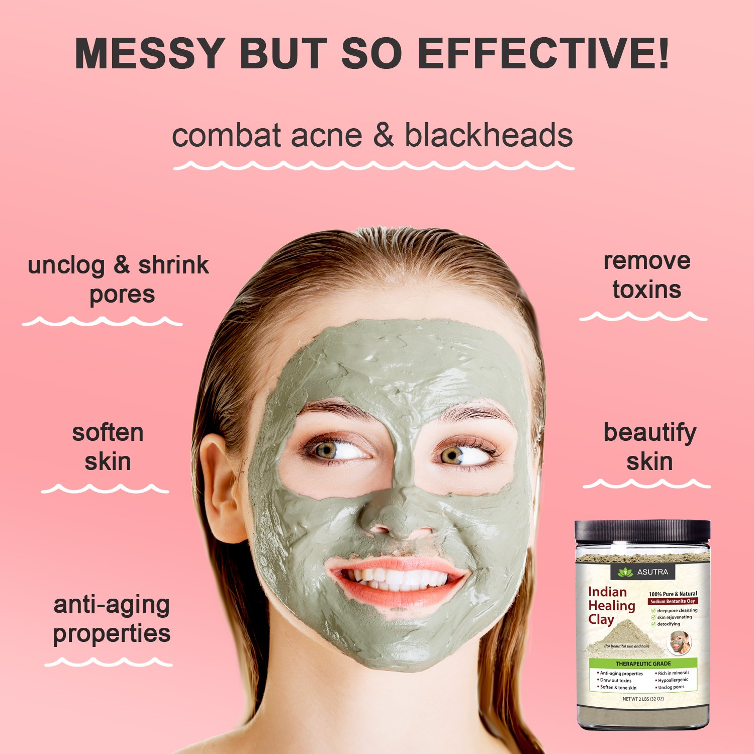 5 Best Clay Face Mask Products For Blackheads In India
