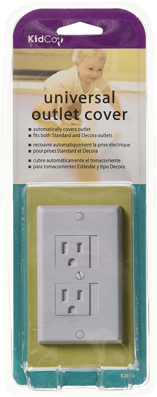 Kidco Universal Outlet Cover Electrical Safety Tools & Home ...
