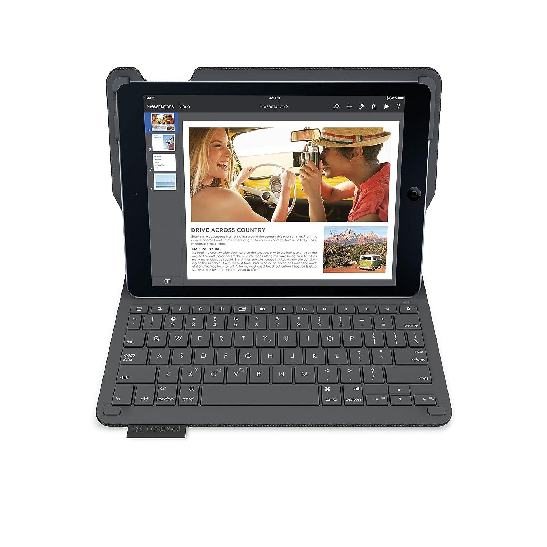 【クーポン対象外】 LOGICOOL キーボード体型保護ケース B00OXKLD2C for iPad Air 2 LOGICOOL ブラック iK1051BK ブラック B00OXKLD2C, じゃにおべる模型:3eb9857c --- a0267596.xsph.ru