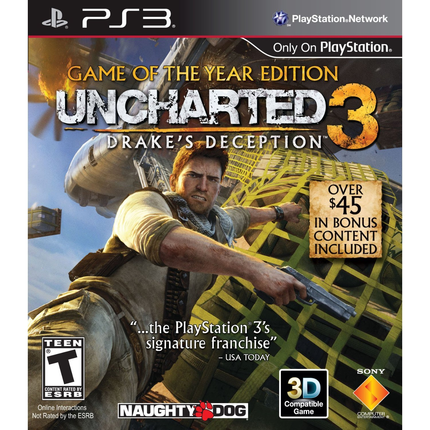 Amazon Com Uncharted 3 Drake S Deception Game Of The Year
