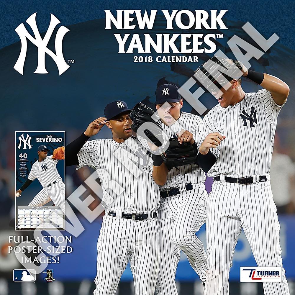 Yankees Calendar 2019 New York Yankees 2019 Calendar: Lang Holdings Inc.: 9781469360515