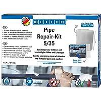 WEICON Pipe Repair-Kit 5/35 reparatieset voor buizen, kabels en leidingen 5 cm x 3,6 m