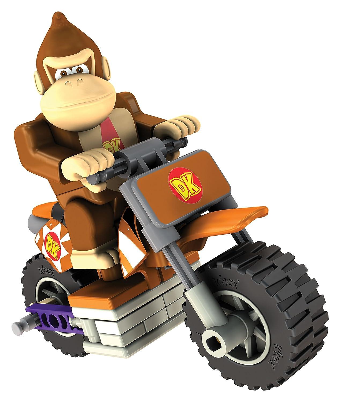 KNEX Mario Kart DONKEY KONG Bike Building Set, 34 Pieces (Inviato da UK)
