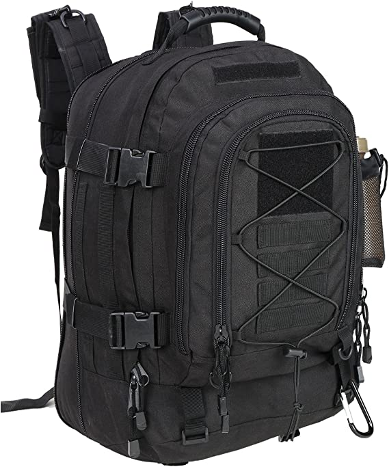 PANS Backpack Large Military Expandable Travel Backpack Tactical Waterproof Hiking Backpack for Men