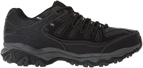 detailed pictures ca911 05bc3 Amazon.com   Skechers Men s Afterburn Memory-Foam Lace-up Sneaker   Road  Running