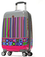 Olympia Luggage Princess Art Series 21 Inch Carry-On