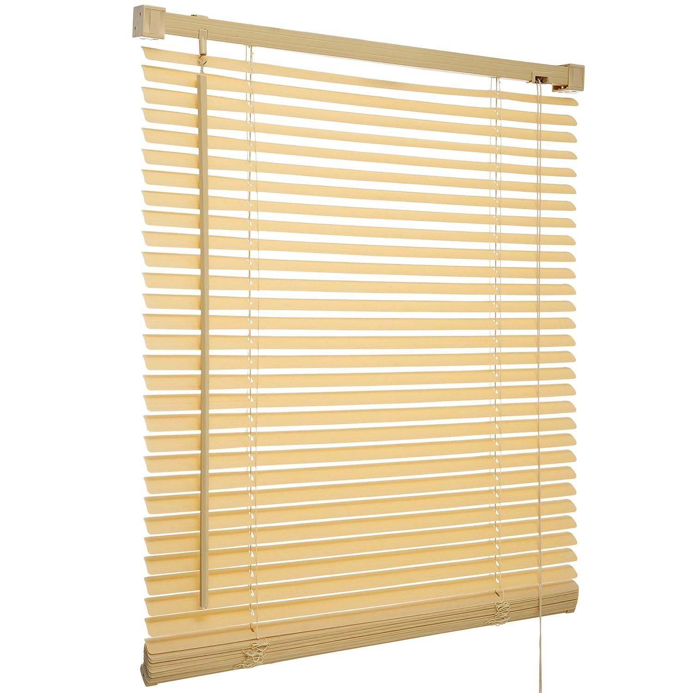 Acer PVC Wood Effect Venetian Blinds (90cm, Wood effect Natural) Aspire Venetian Blinds