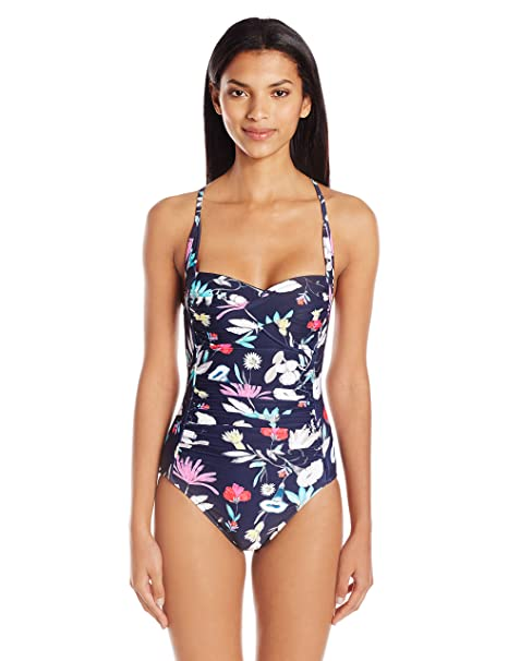 58f1eef8d41ab Seafolly Womens Flower Festival Twist Maillot One Piece Swimsuit One-Piece  Swimsuit: Amazon.ca: Clothing & Accessories