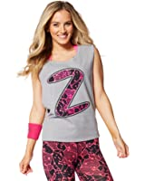 Zumba Womens Inspired by Z Dropped Armhole Tank