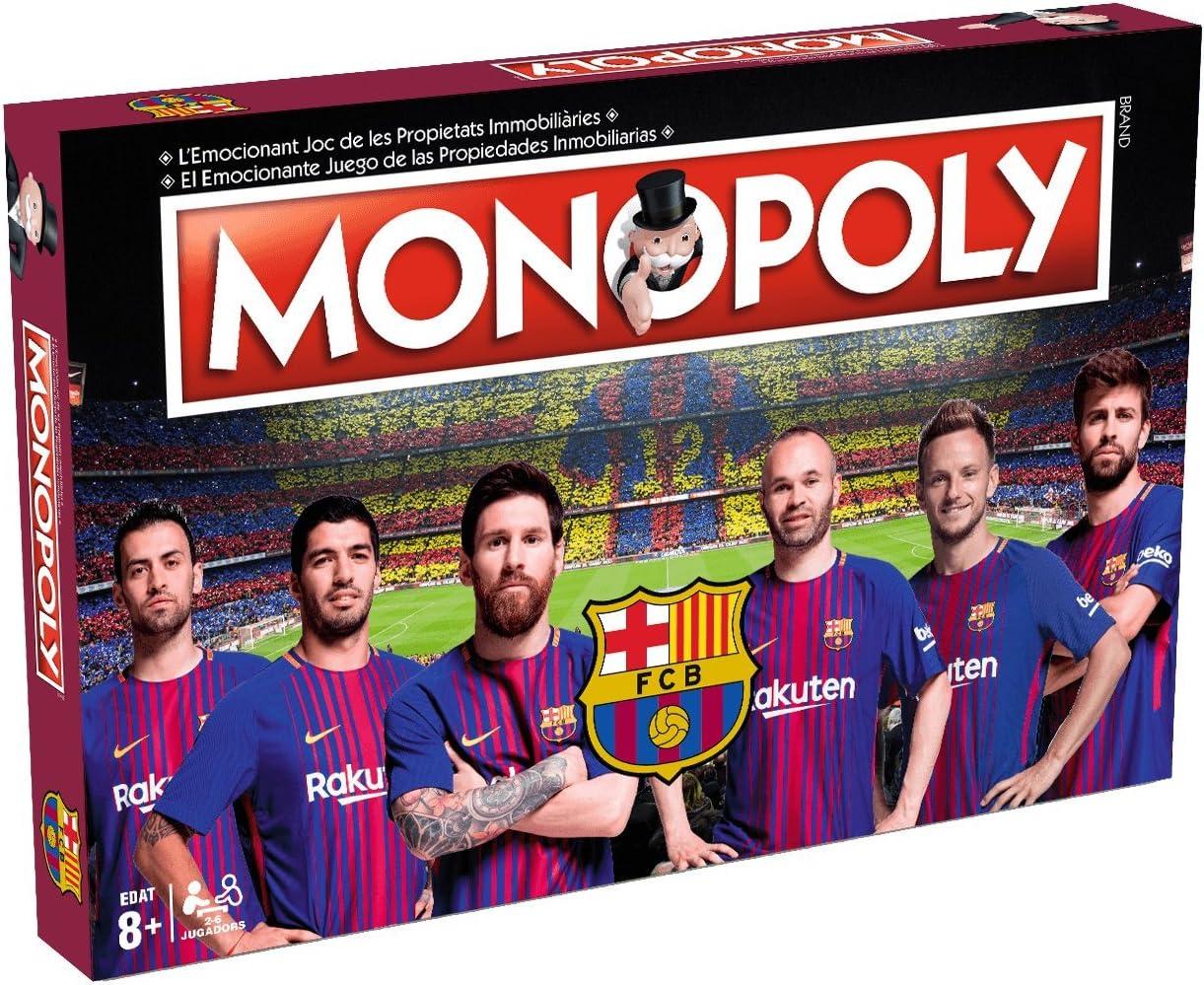 Eleven Force Monopoly F.C. Barcelona 40x26 - + 8años