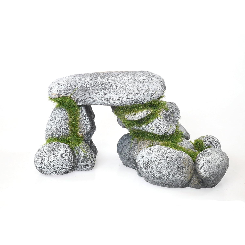 Rosewood Moss - Figura Decorativa para Acuario, diseño de Arco de Roca, tamaño Grande: Amazon.es: Productos para mascotas