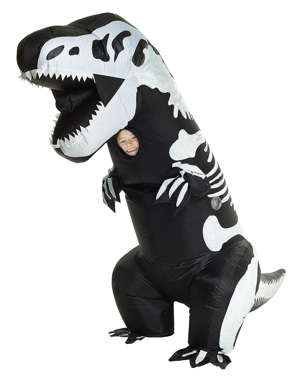 Morphsuits Disfraz Infantil de Esqueleto Hinchable Gigante (Talla única)