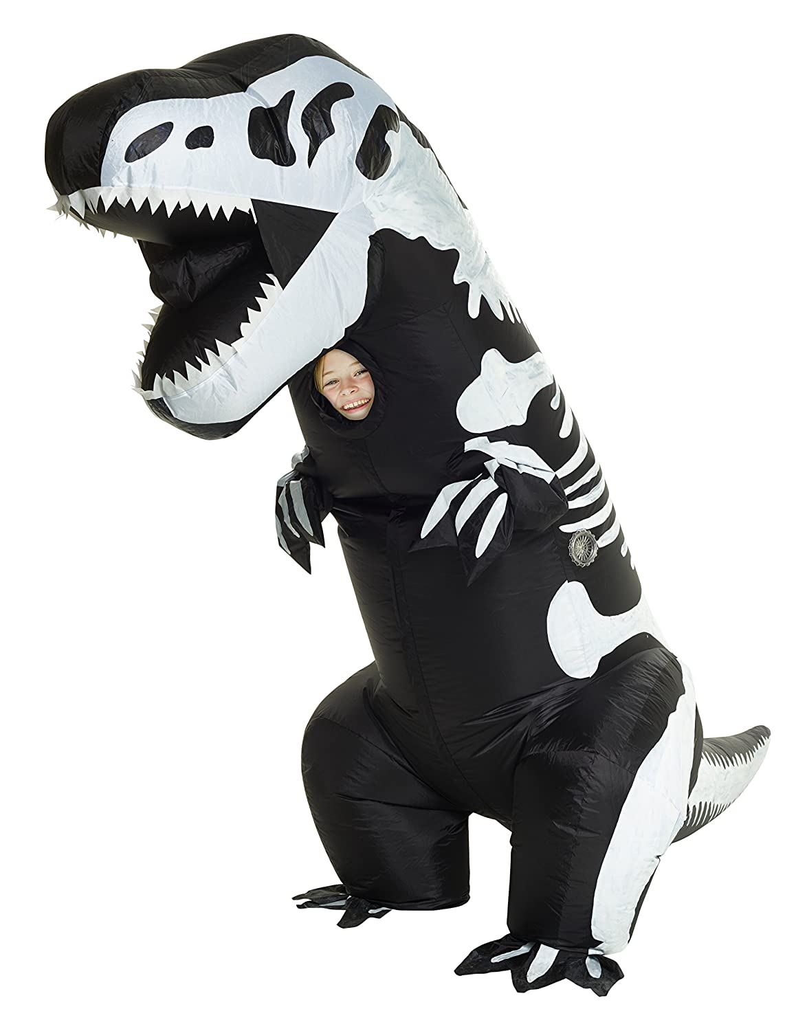 (Skeleton T-rex) - Morphsuits Giant Costume Skeleton One Inflatable Giant Kids Fancy dress Costume - One Size B06XQK4JD9, ヨウカイチシ:c8eadc4e --- alumnibooster.club