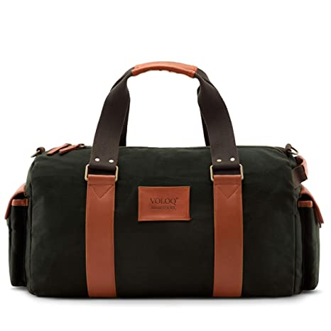 VOLOQ Karac Travel Bag Duffle for Men   Women b33b5b3a98990