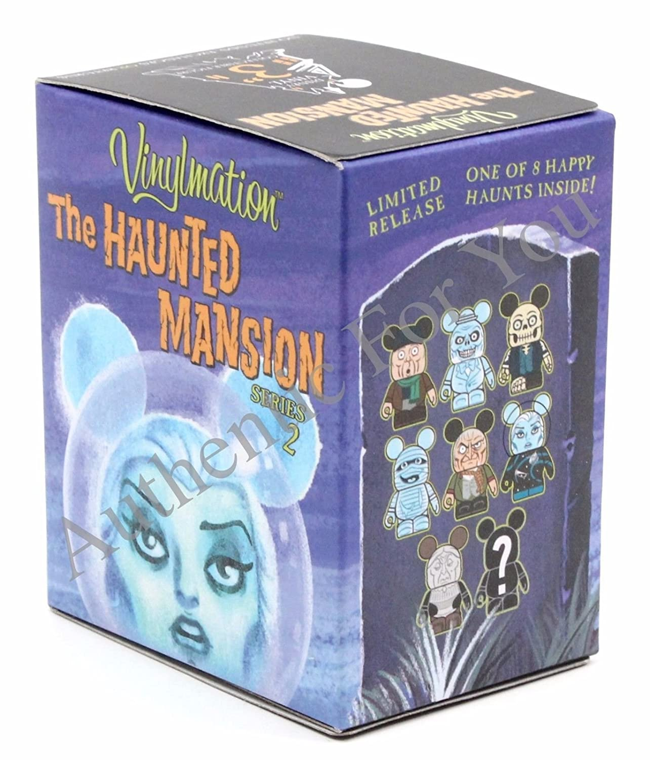 Haunted Mansion Vinylmation Complete Guaranteed Image 3