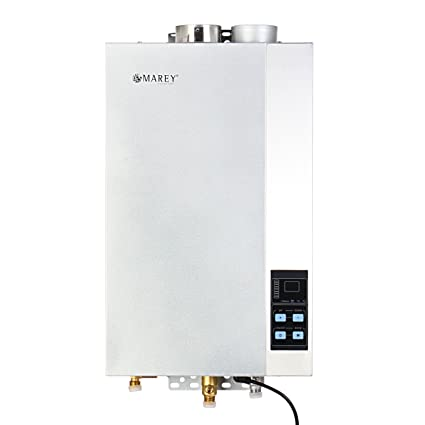 Marey 4.3 GPM 107,000 BTUs Natural Gas Tankless Water Heater on electric hot water wiring diagrams, electric tankless water heater specifications, hot water heater wiring diagrams, rv water heater wiring diagrams, rheem wiring diagrams, electric tankless water heater installation,