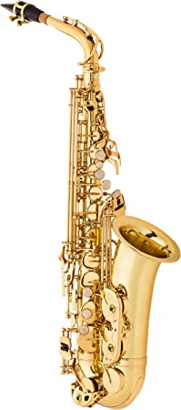 side facing jean paul usa as-400 student alto saxophone