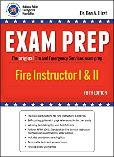 exam prep fire instructor i ii exam prep fire instructor 1 2 rh amazon com With Assistant Instructor Guide Instructor Manual
