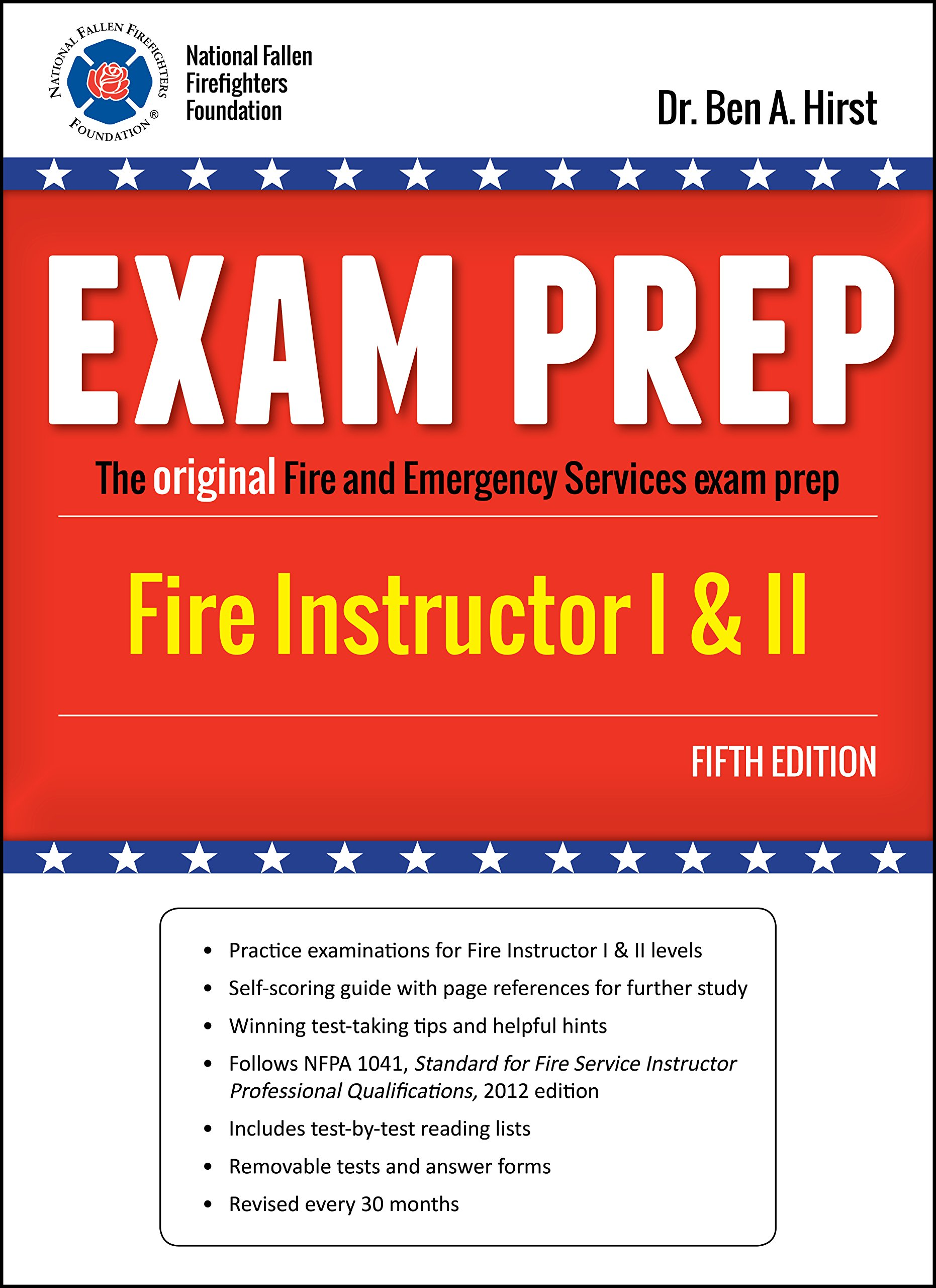 Exam Prep: Fire Instructor, Fifth Edition by Performance Training Systems,  Dr. Ben A. Hirst: Dr. Ben Hirst: 9781495117527: Amazon.com: Books