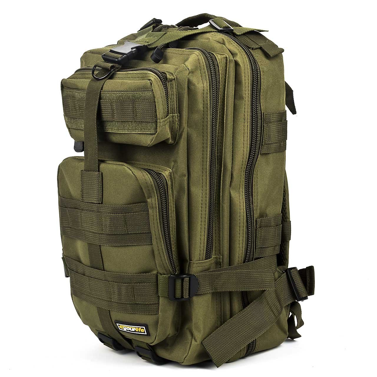 ARMY GREEN 20L Hiking Travel Military MOLLE Survival Day Bag ...