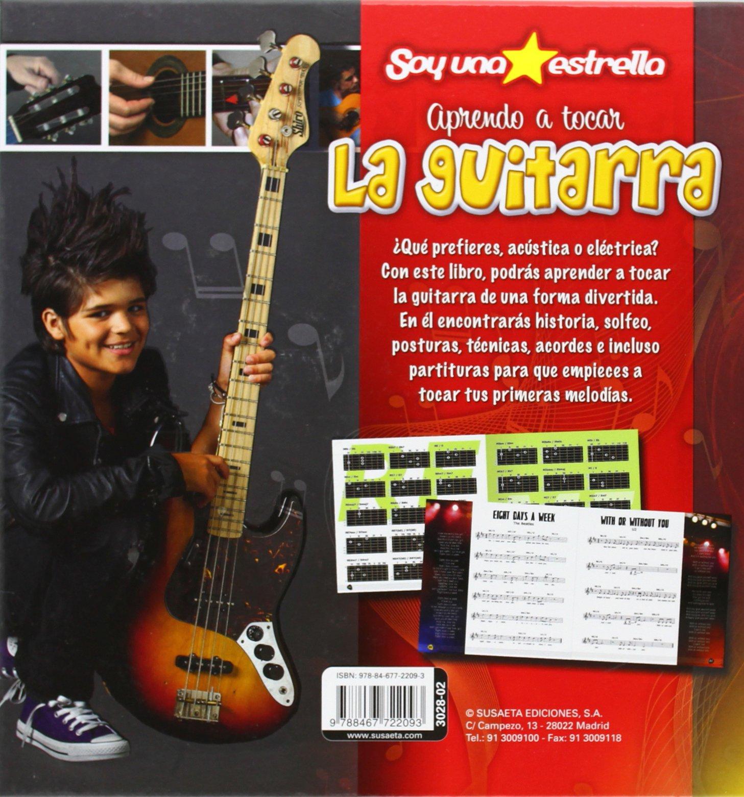 Aprendo a tocar la guitarra: Susaeta Equipo: 9788467722093: Amazon.com: Books