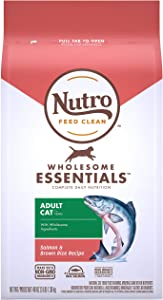 Nutro Wholesome Essentials Adult Dry Cat Food, Salmon