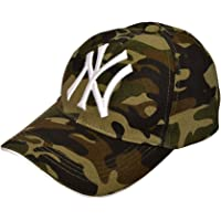 NexusWorld Cotton Baseball Army Militery Caps for Men and Women - Grey and Brown