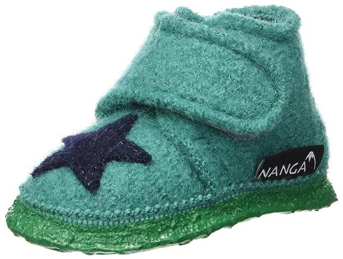 Nanga Unisex-Kinder Stern Flache Hausschuhe