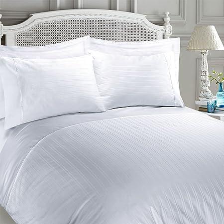 Juego de funda nórdica para cama, satén 100% algodón egipcio con ...