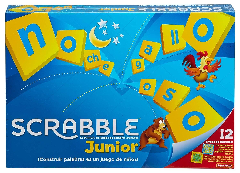 Mattel Games - Scrabble Junior, Juegos de Mesa para Niños