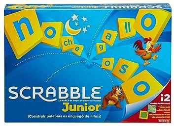 6197ea679fb7 Mattel Games Scrabble junior, juego de mesa infantil (Mattel Y9669):  Amazon.es: Juguetes y juegos