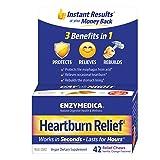 Enzymedica - Heartburn Relief, Dietary Supplement to Help Soothe Indigestion, Vegan, Non-GMO, Vanilla Orange, 42 Chews (21 Servings)