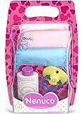 Famosa 700009027 Nenuco - Pack de pañales de colores para muñeco