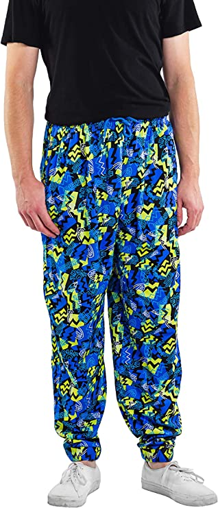 80s Men's Clothing | Shirts, Jeans, Jackets for Guys Tipsy Elves Mens Funny Workout Pants - Baggy Sweats Activewear for Guys $19.95 AT vintagedancer.com