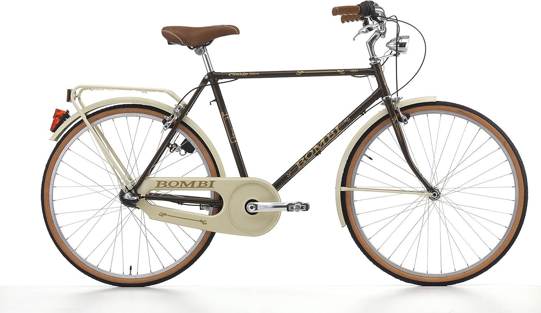 Cicli Cinzia Bicicleta Bombi Retrá² Para Hombres, Cuadro de Acero ...