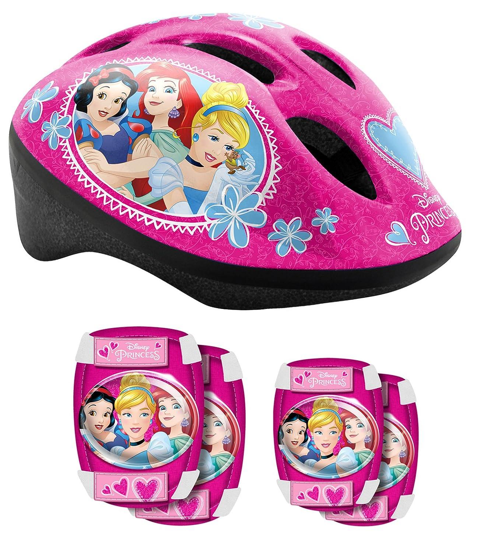 Stamp K887507Set de protección para Bicicleta niña, Color Rosa STCNV|#Stamp