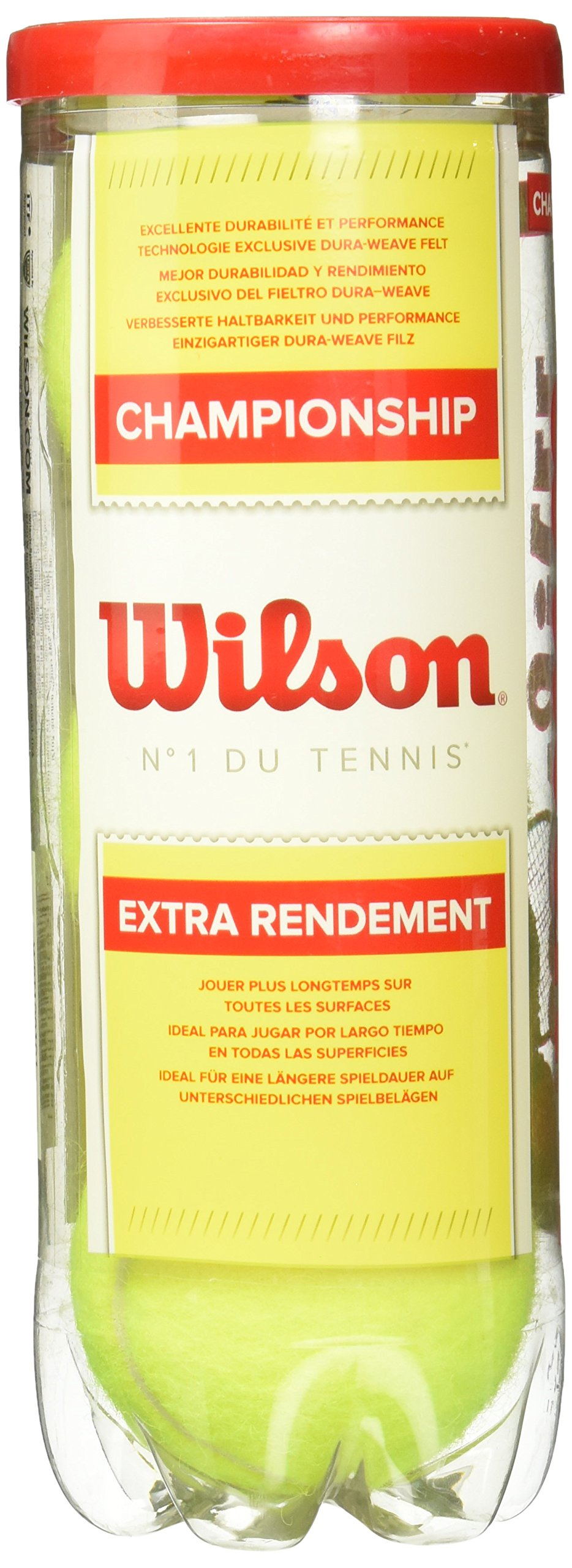 Wilson Championship Tennis Balls - Can (CAN) by Wilson (Image #3)