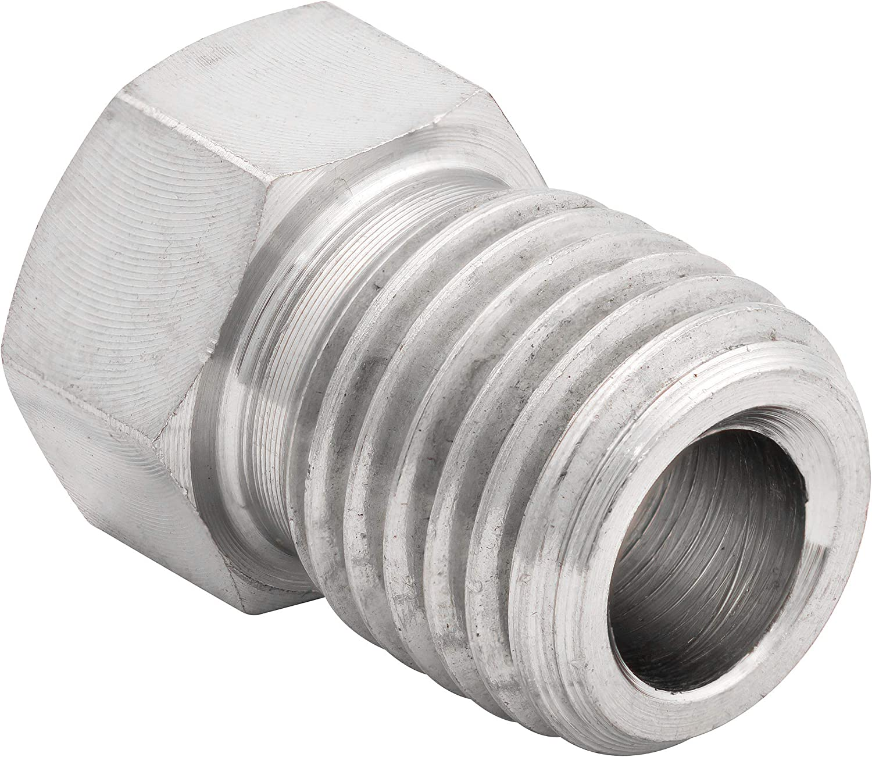 3//8-24 Inverted 4LIFETIMELINES Stainless Steel Brake Line Tube Nut Bag of 10 3//16