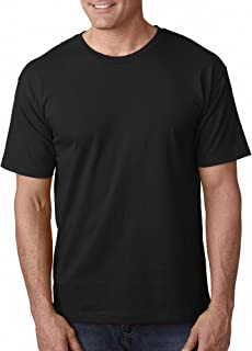 product image for Bayside Adult 5.4 oz. 100% Cotton T-Shirt BLACK S